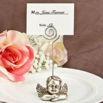 Guardian Angel Design Place Card Holder